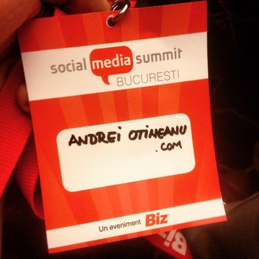 O să îmi placă mereu Social Media Summit