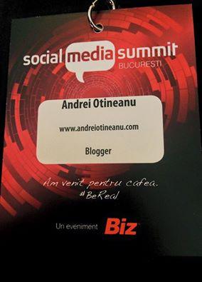 Lucruri faine la Social Media Summit