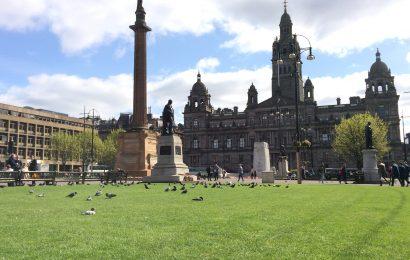 Glasgow, fața occidentală a Scoției